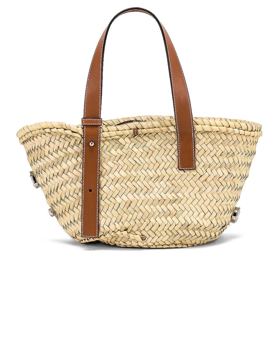 Loewe Small Stones Basket Natural & Tan high-quality