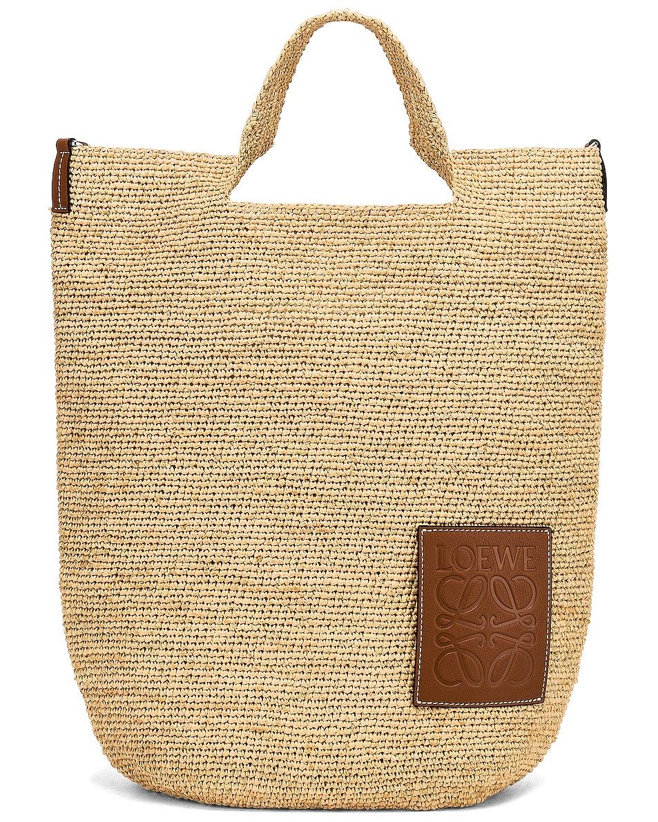 Image 1 of Loewe Slit Bag in Natural