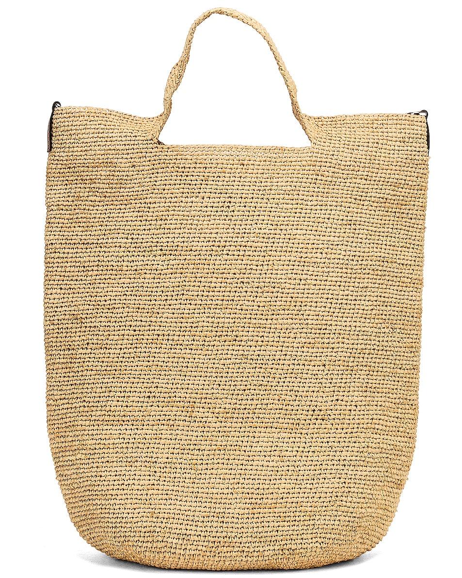 Image 3 of Loewe Slit Bag in Natural