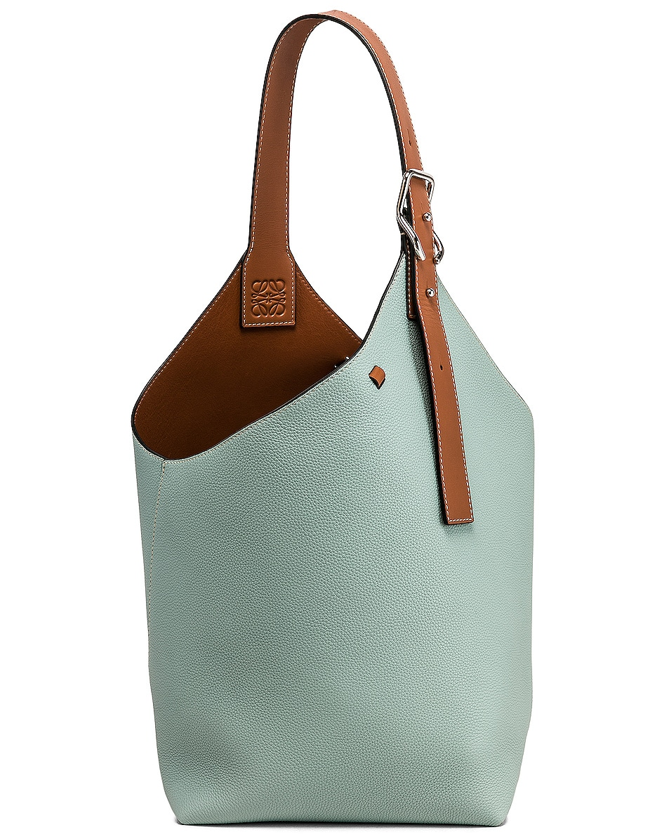 Image 1 of Loewe Balloon Bag in Aqua