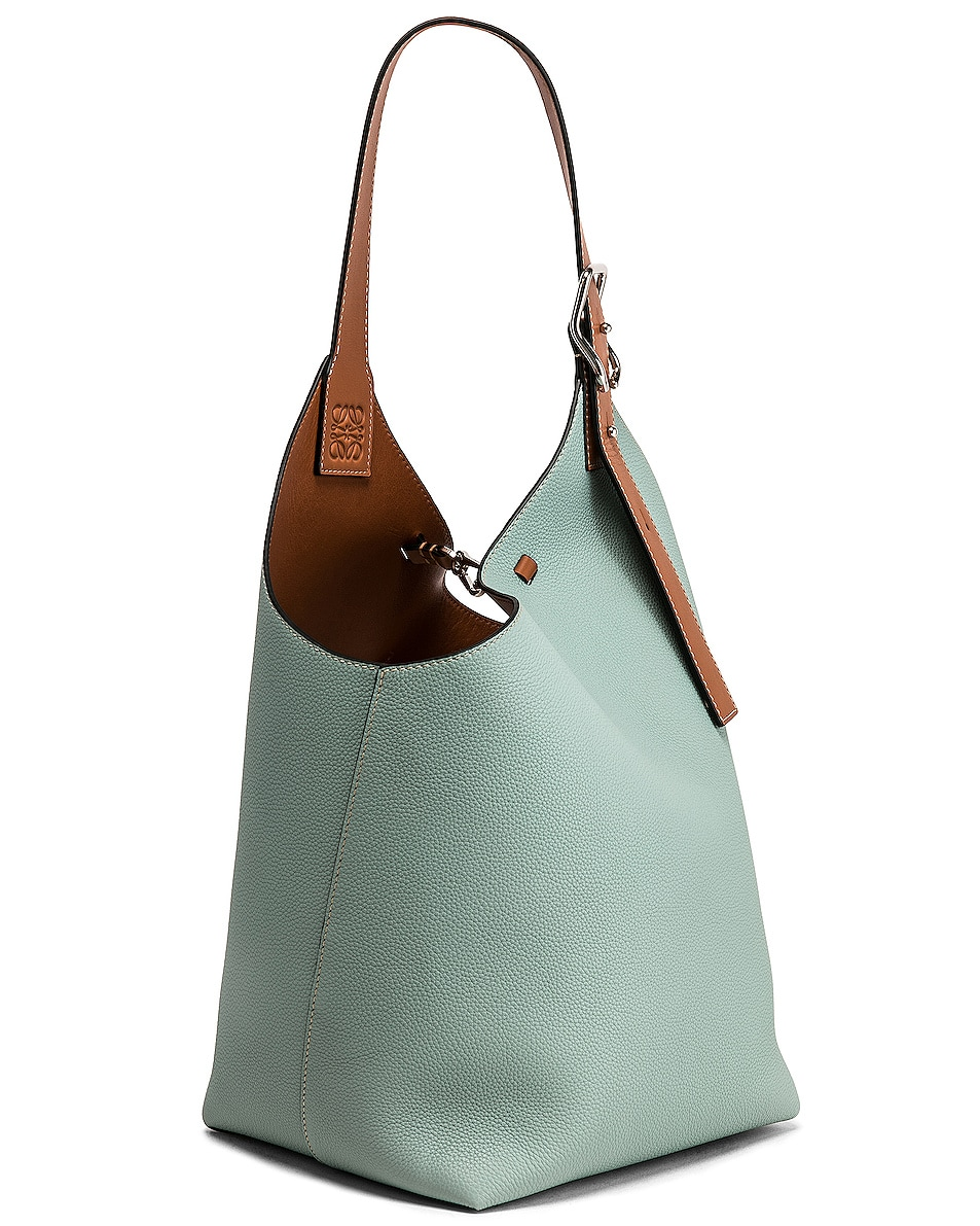 Image 4 of Loewe Balloon Bag in Aqua