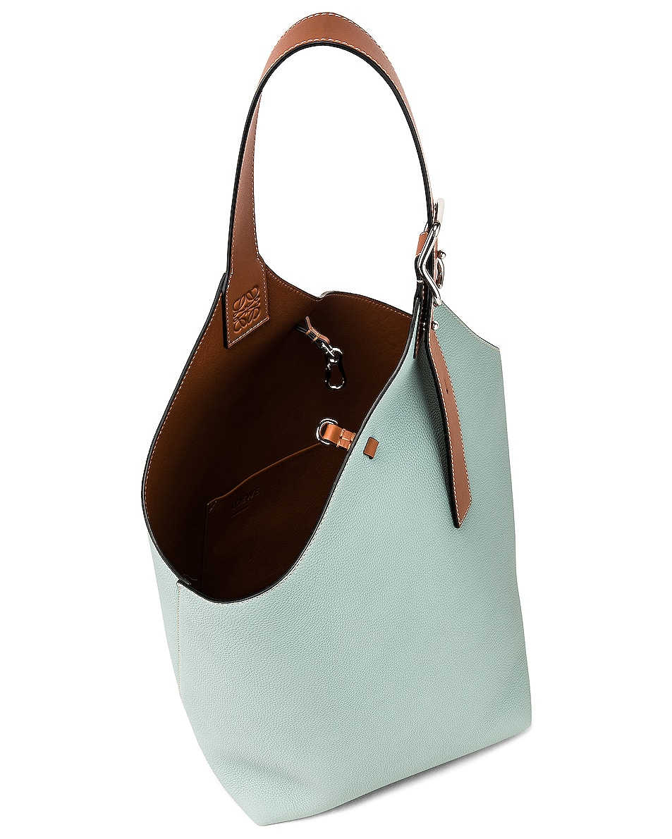 Image 5 of Loewe Balloon Bag in Aqua