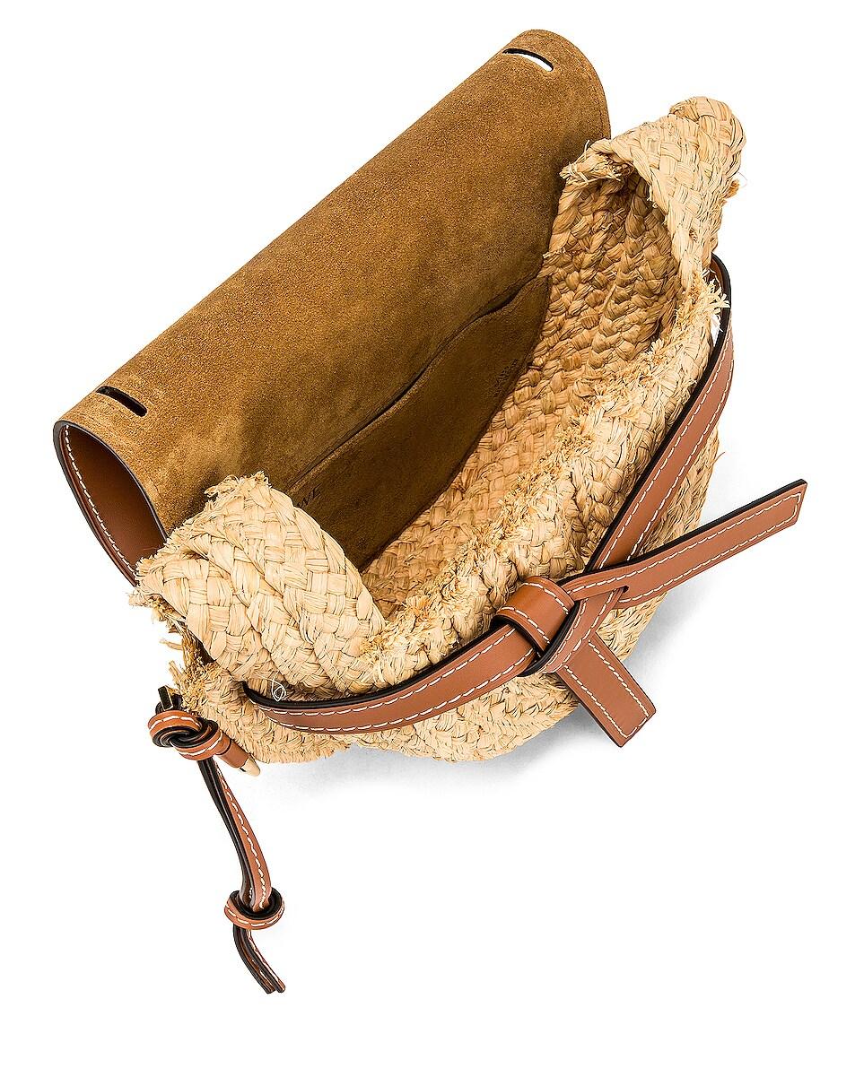 Image 5 of Loewe Gate Small Bag in Tan & Natural