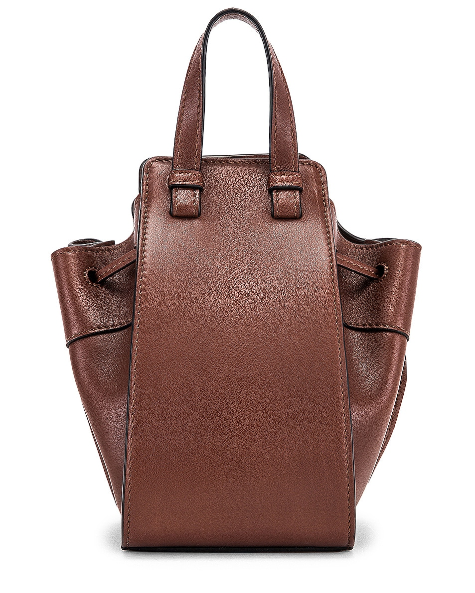 Image 3 of Loewe Hammock DW Mini Bag in Brunette