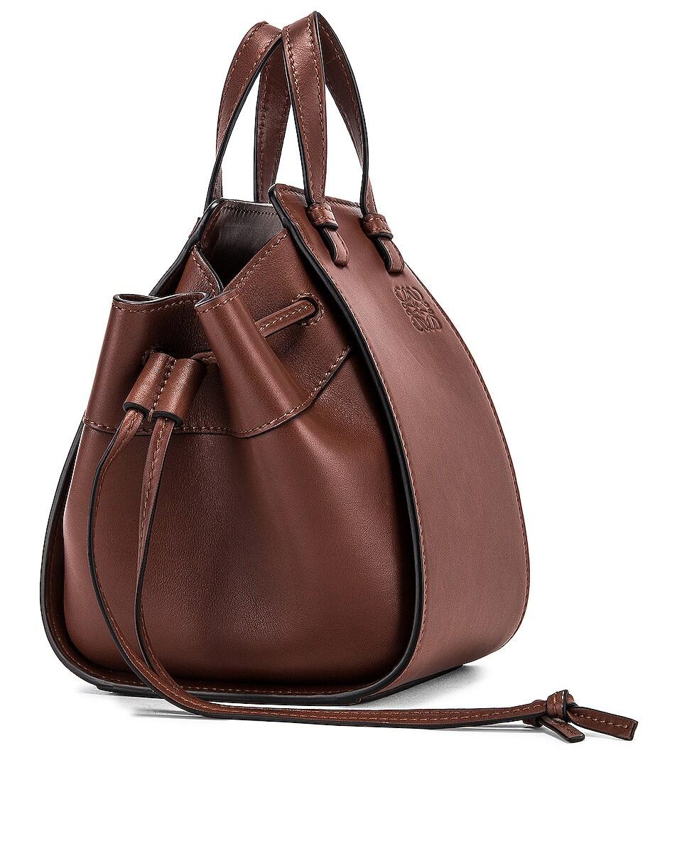 Image 4 of Loewe Hammock DW Mini Bag in Brunette