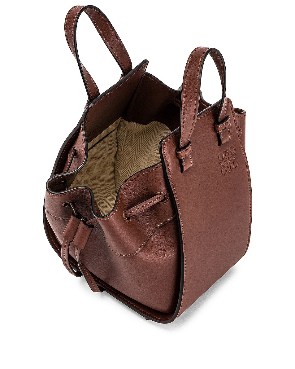 Image 5 of Loewe Hammock DW Mini Bag in Brunette