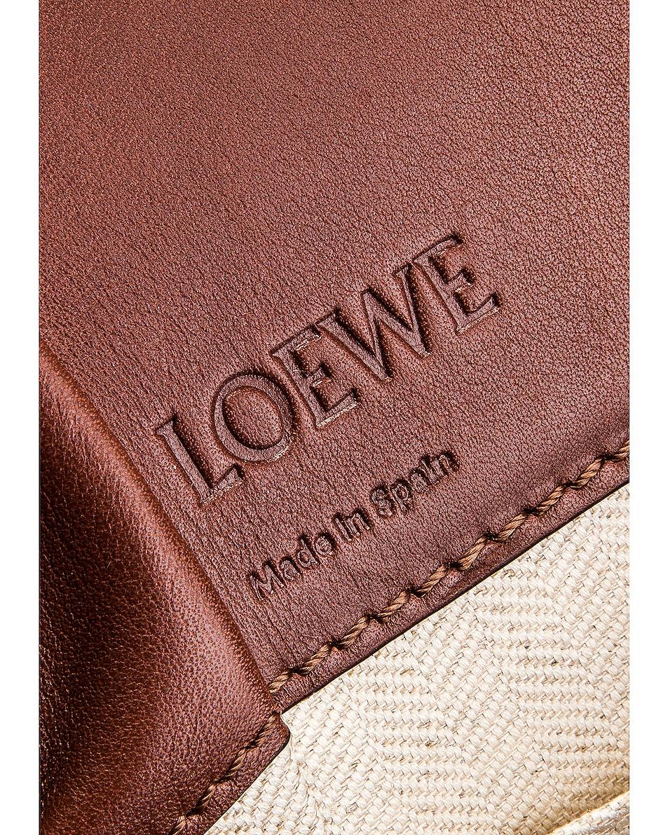 Image 7 of Loewe Hammock DW Mini Bag in Brunette