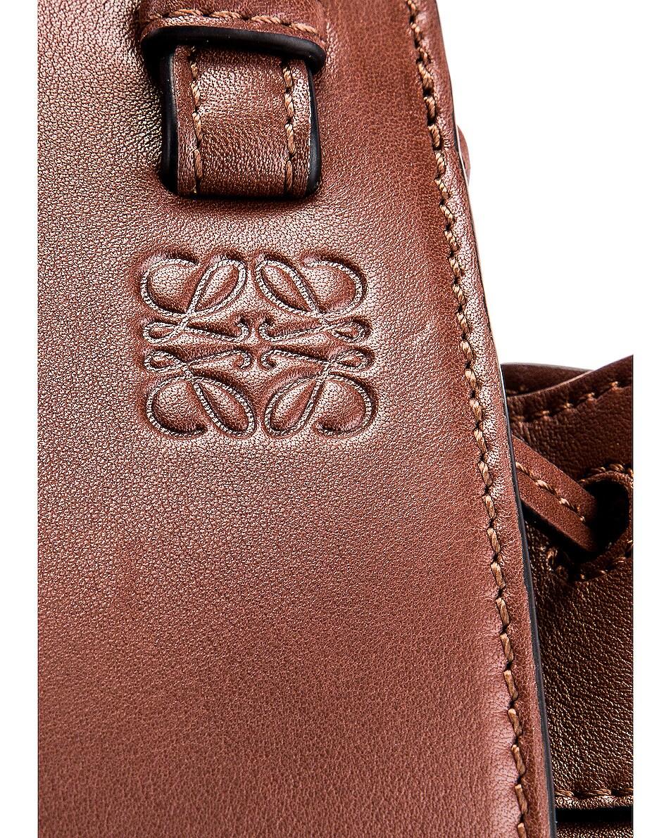 Image 8 of Loewe Hammock DW Mini Bag in Brunette