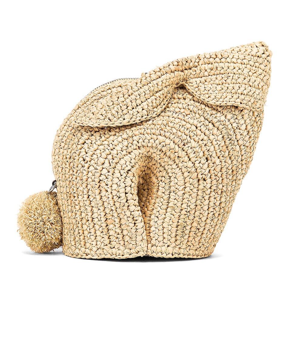 Image 1 of Loewe Bunny Mini Bag in Natural