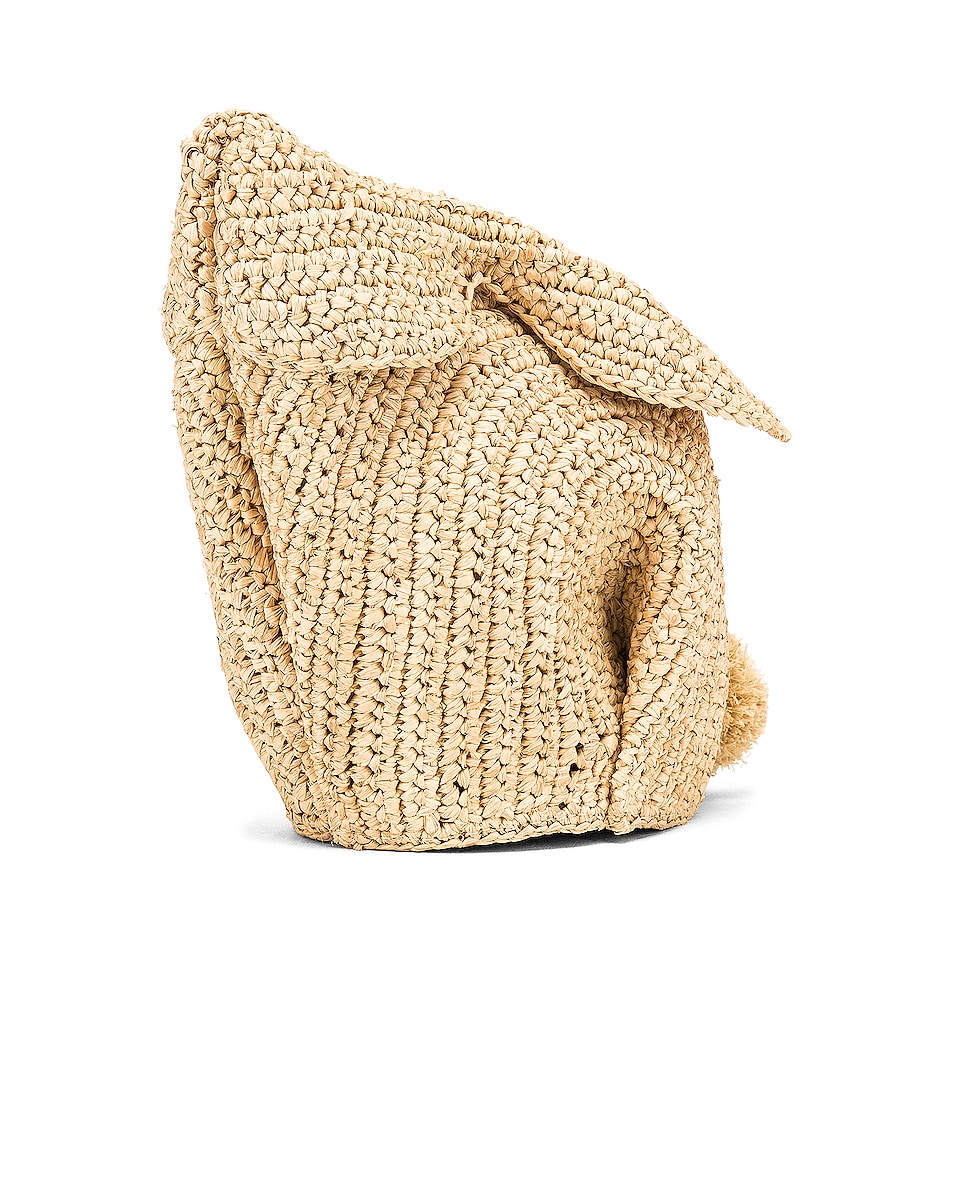 Image 4 of Loewe Bunny Mini Bag in Natural