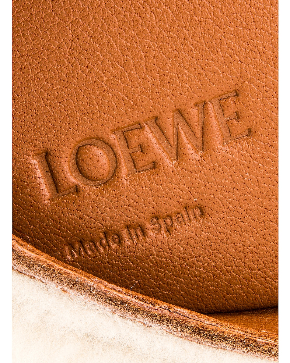Image 7 of Loewe Bunny Mini Bag in Natural