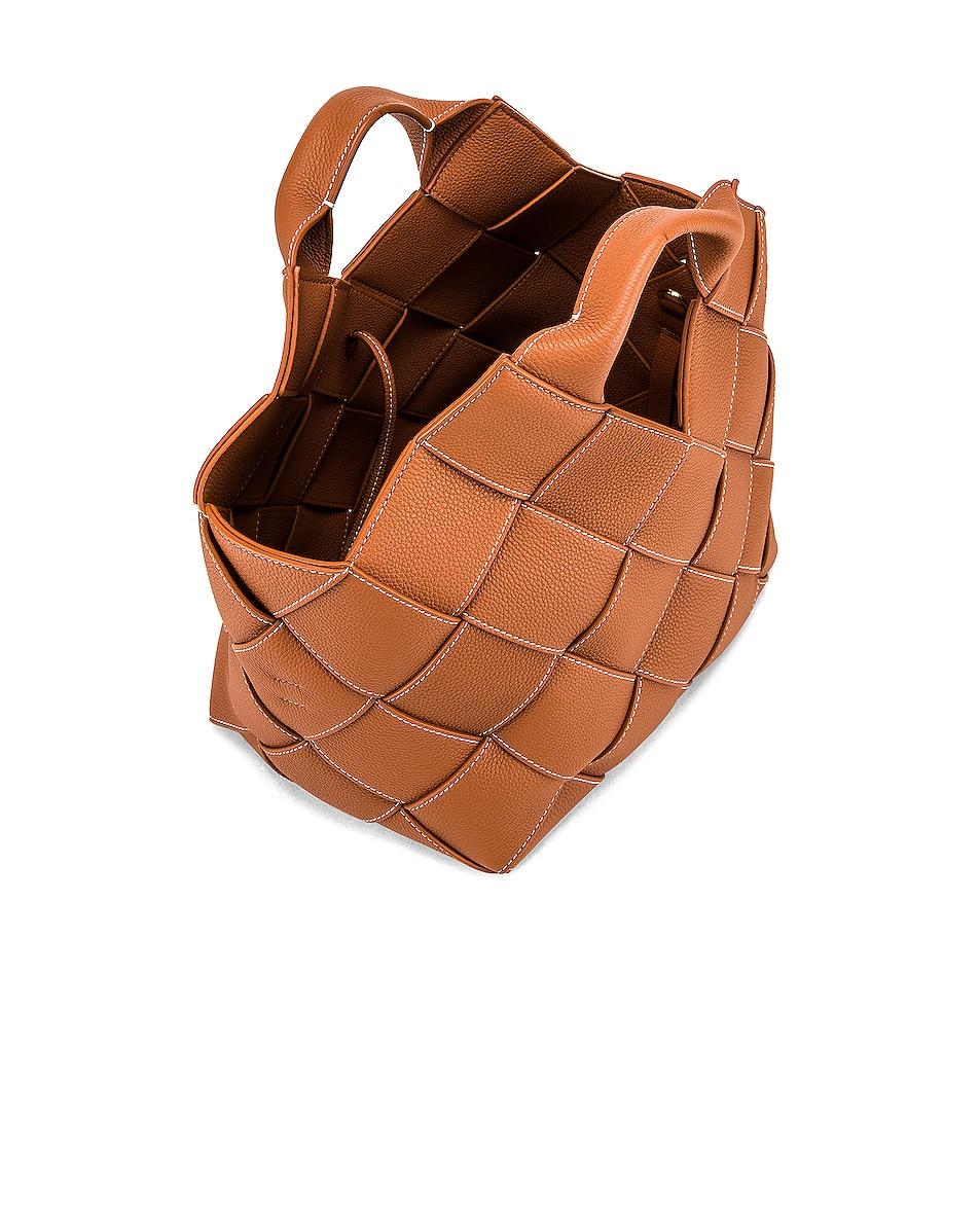 Image 5 of Loewe Woven Basket Bag in Tan