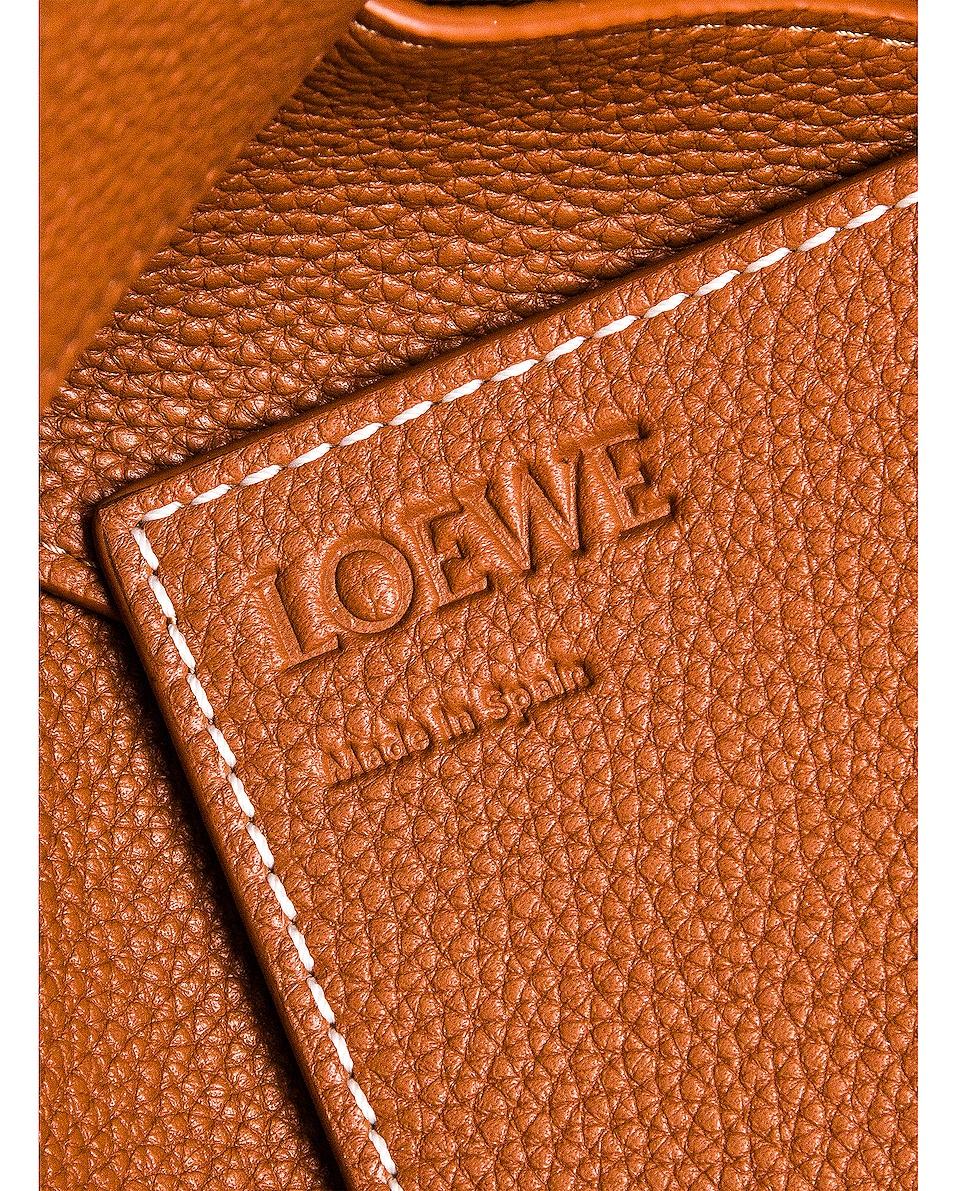 Image 7 of Loewe Woven Basket Bag in Tan