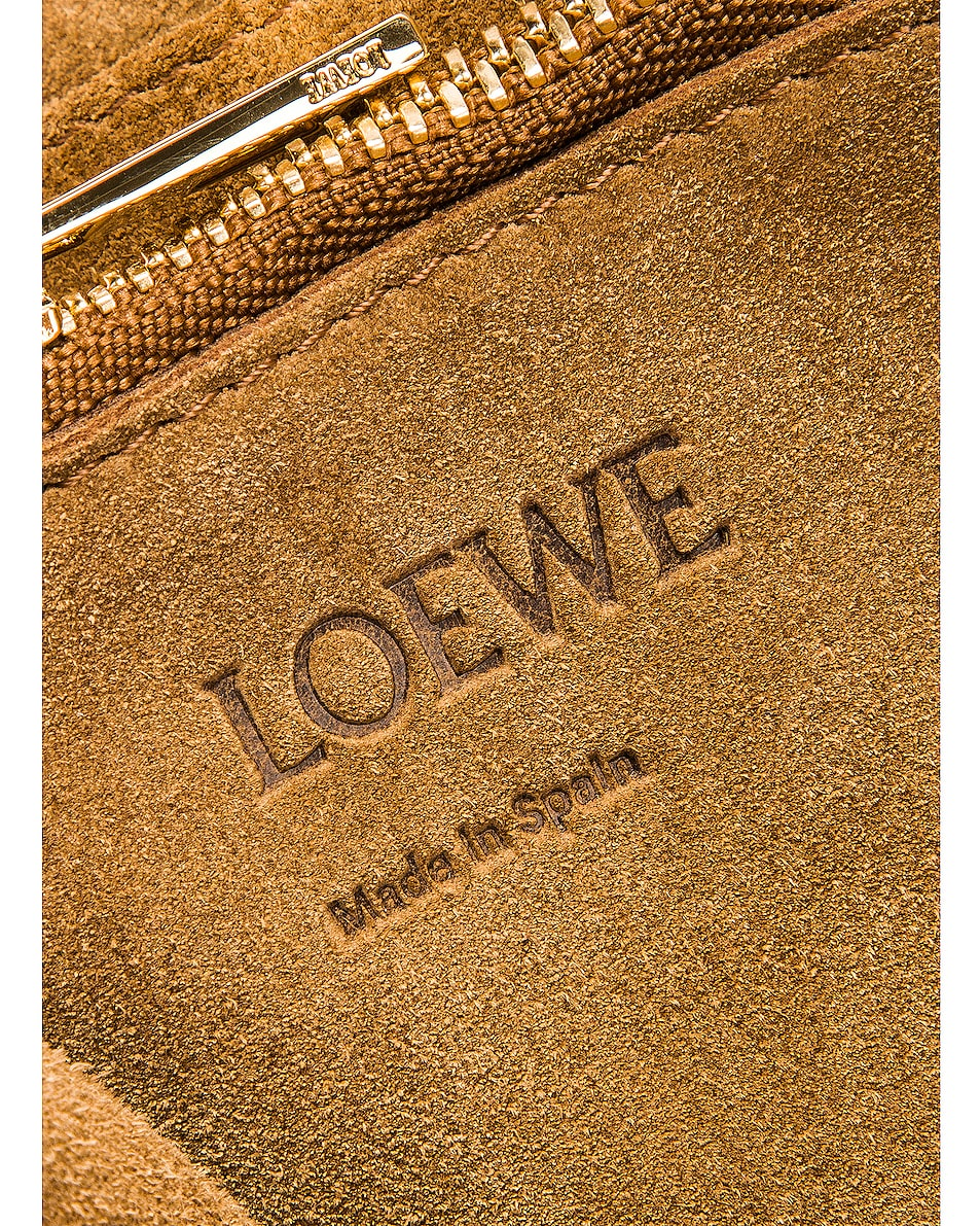 Image 7 of Loewe Gate Top Handle Small Bag in Caramel & Pecan