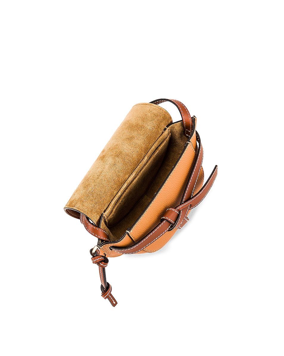 Image 5 of Loewe Mini Gate Bag in Light Caramel & Pecan