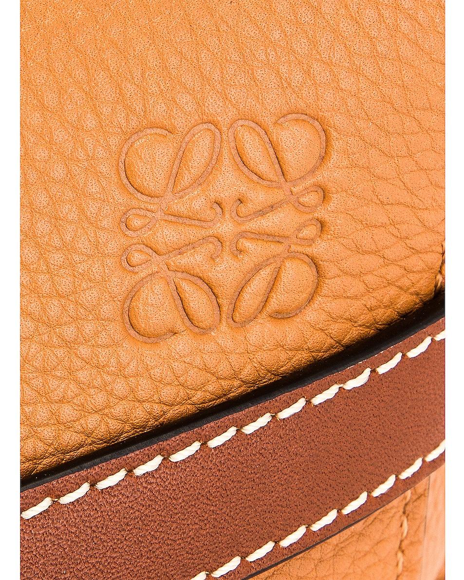 Image 8 of Loewe Mini Gate Bag in Light Caramel & Pecan