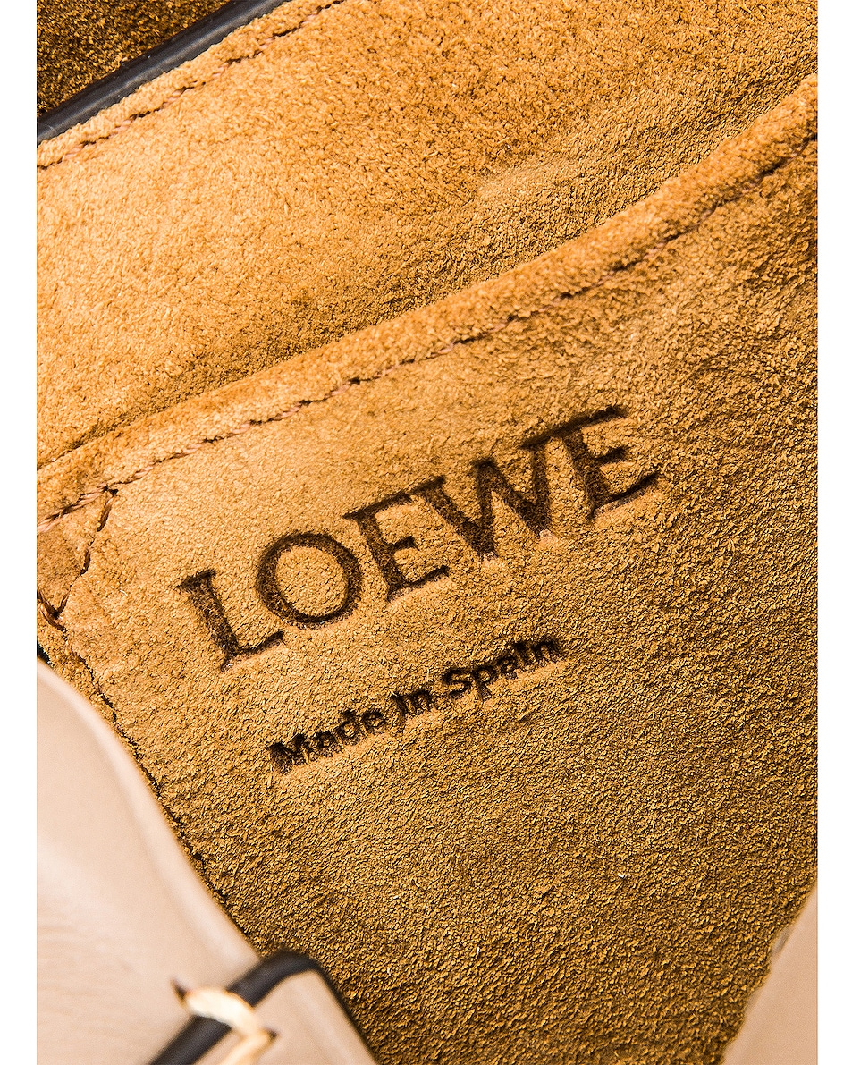 Image 7 of Loewe Gate Small Bag in Amber, Light Grey & Rust