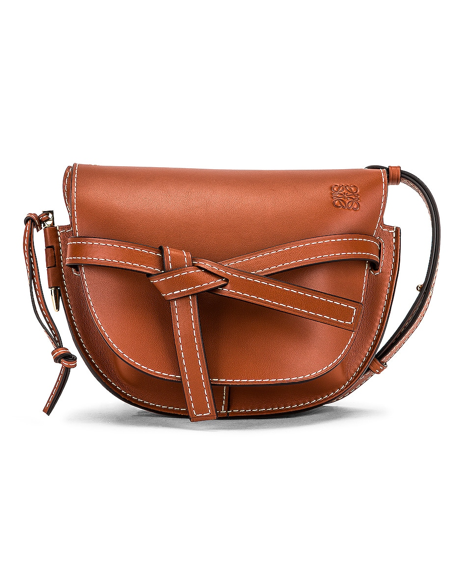 Image 1 of Loewe Gate Small Bag in Rust