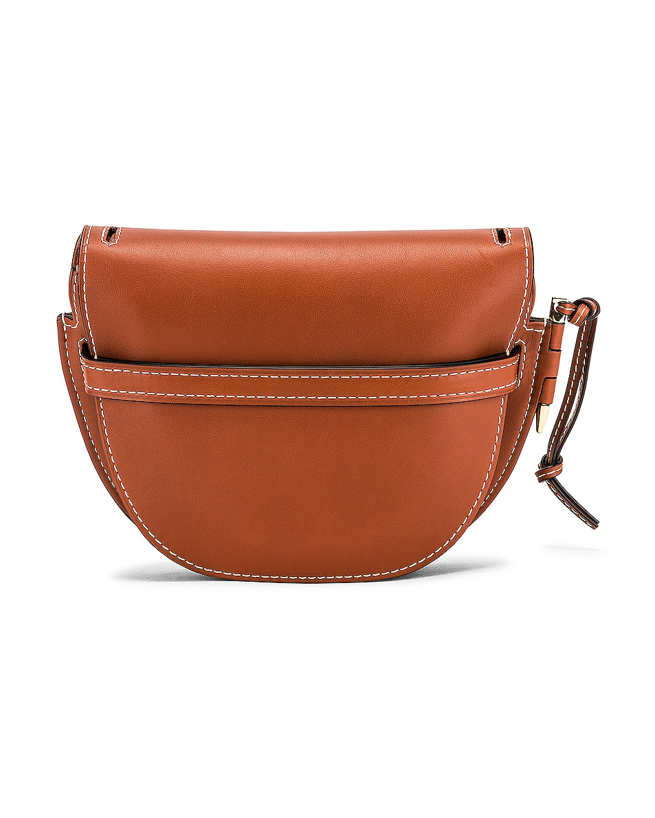 Image 3 of Loewe Gate Small Bag in Rust