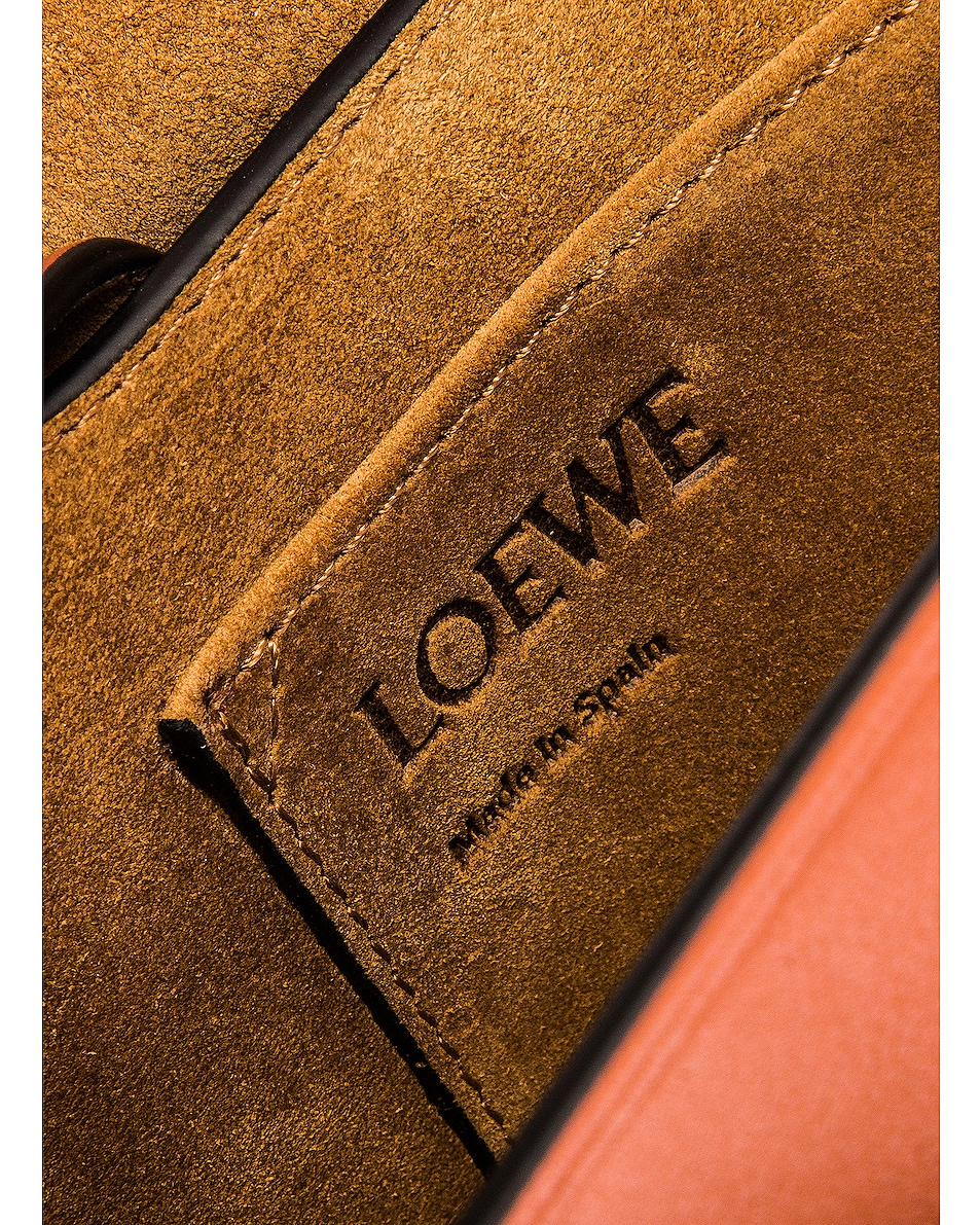 Image 7 of Loewe Gate Small Bag in Rust