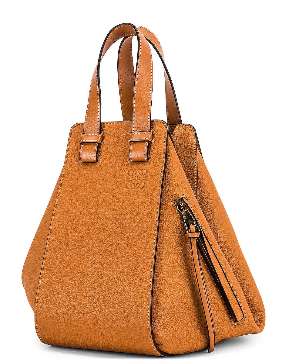 Image 4 of Loewe Hammock Small Bag in Light Caramel