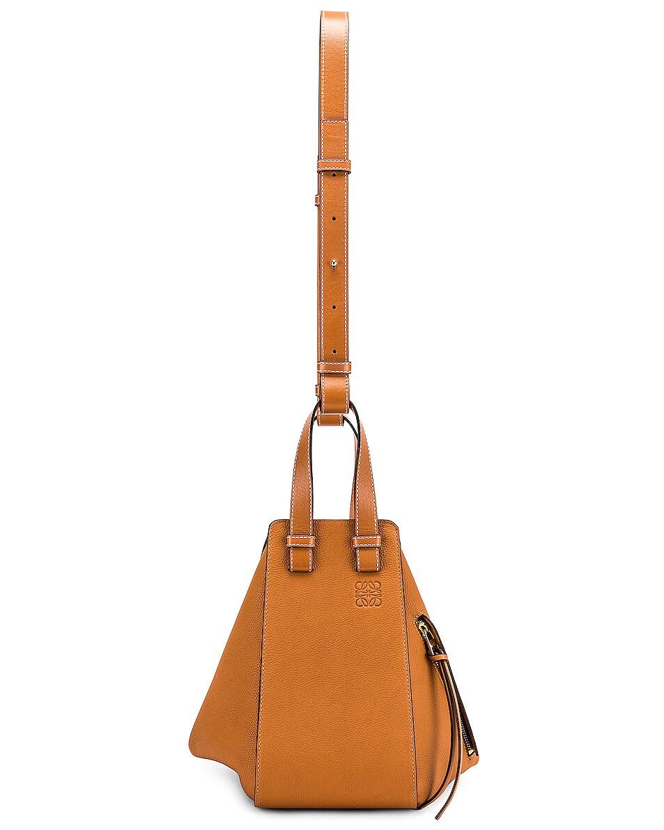 Image 6 of Loewe Hammock Small Bag in Light Caramel