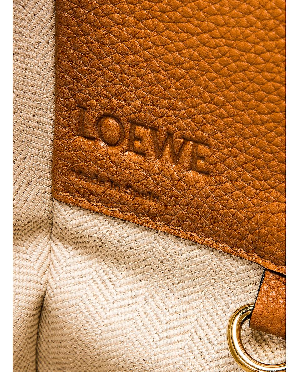 Image 7 of Loewe Hammock Small Bag in Light Caramel