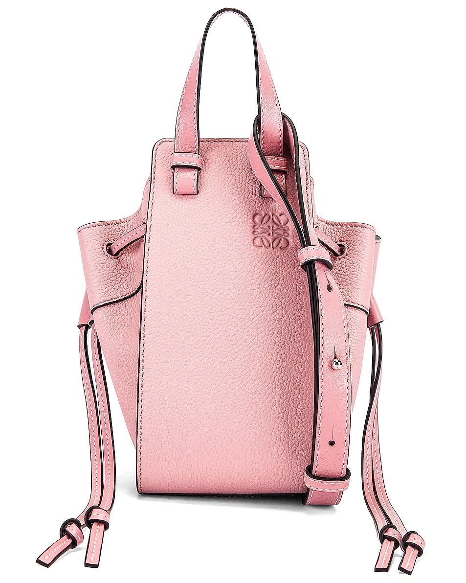 Image 1 of Loewe Mini Hammock Bag in Pastel Pink