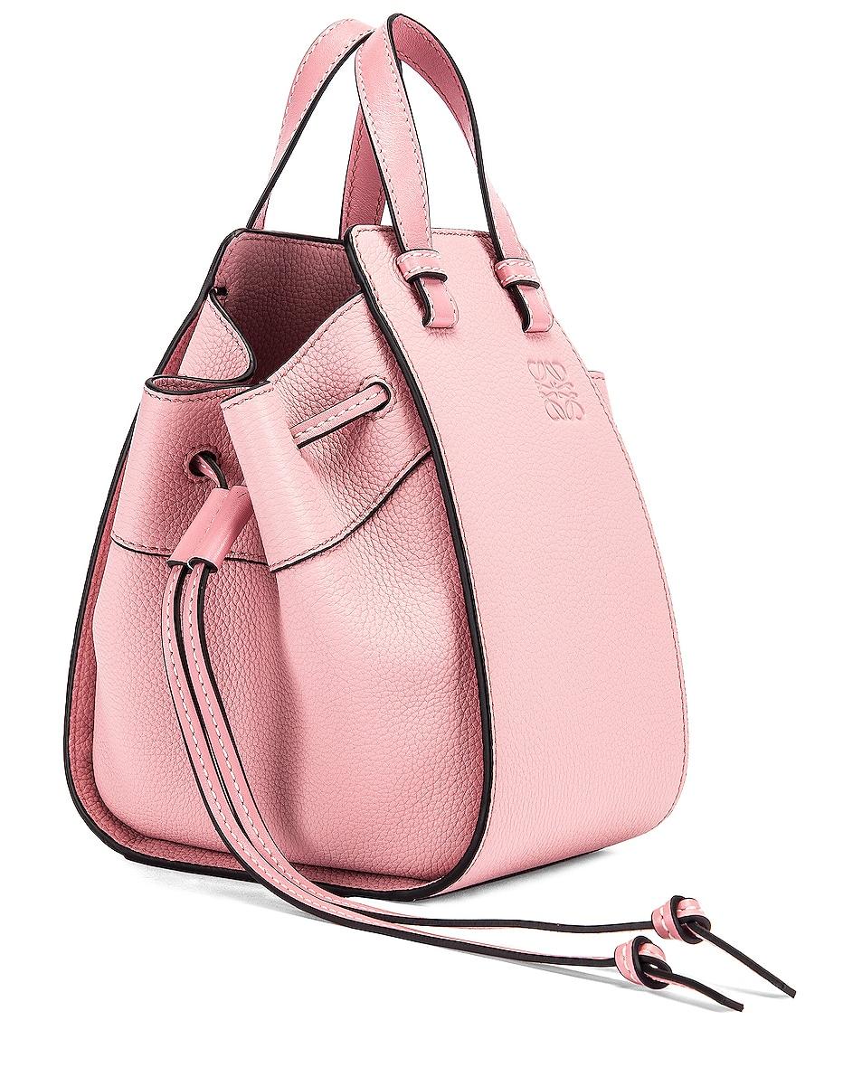 Image 4 of Loewe Mini Hammock Bag in Pastel Pink