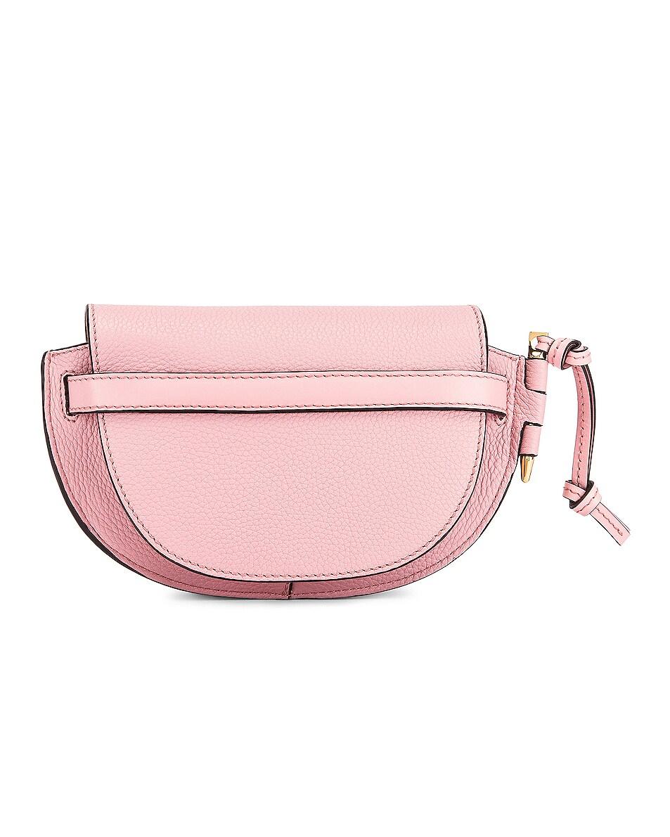 Image 3 of Loewe Mini Gate Bag in Pastel Pink