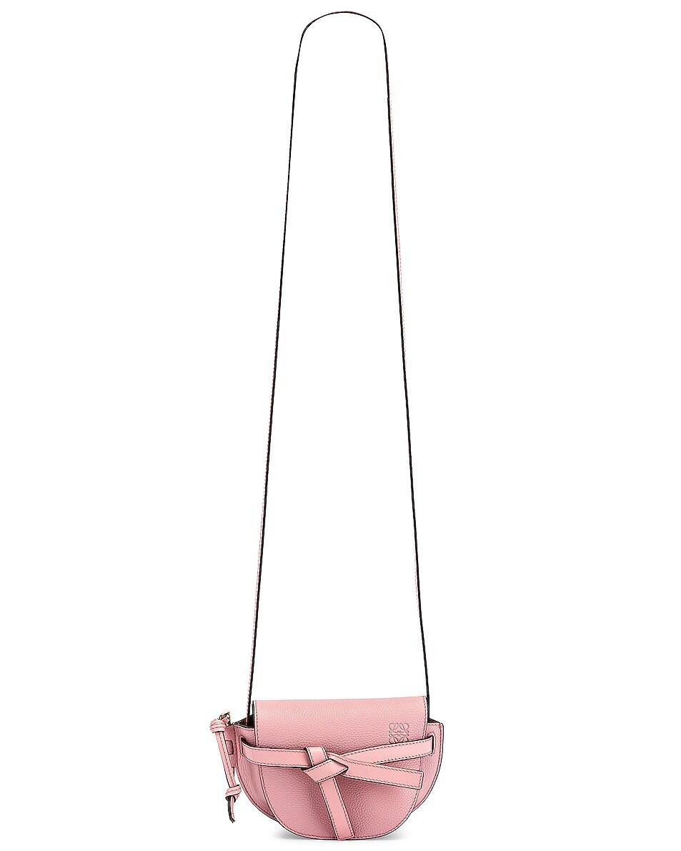 Image 6 of Loewe Mini Gate Bag in Pastel Pink