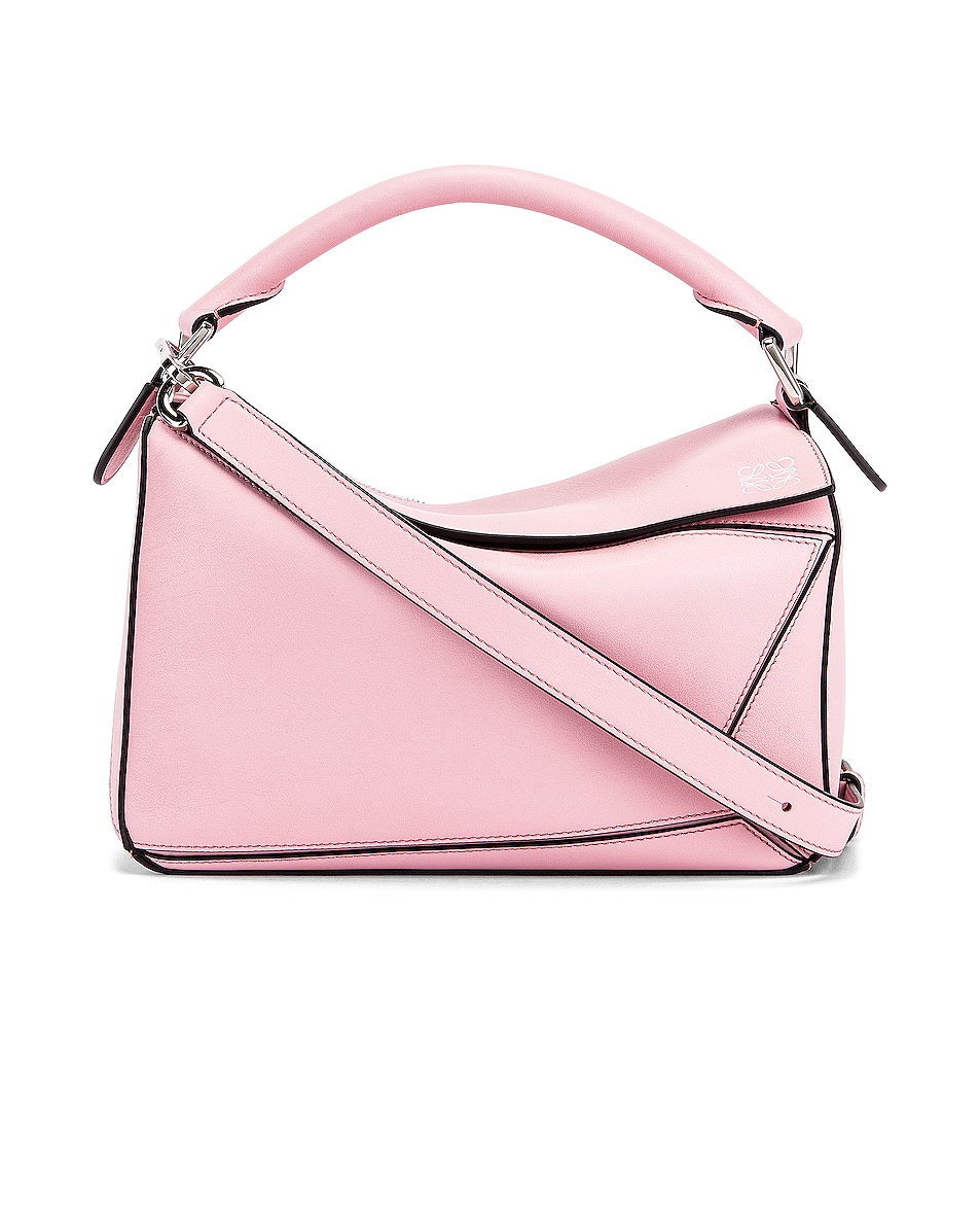 Image 1 of Loewe Puzzle Small Bag in Pastel Pink