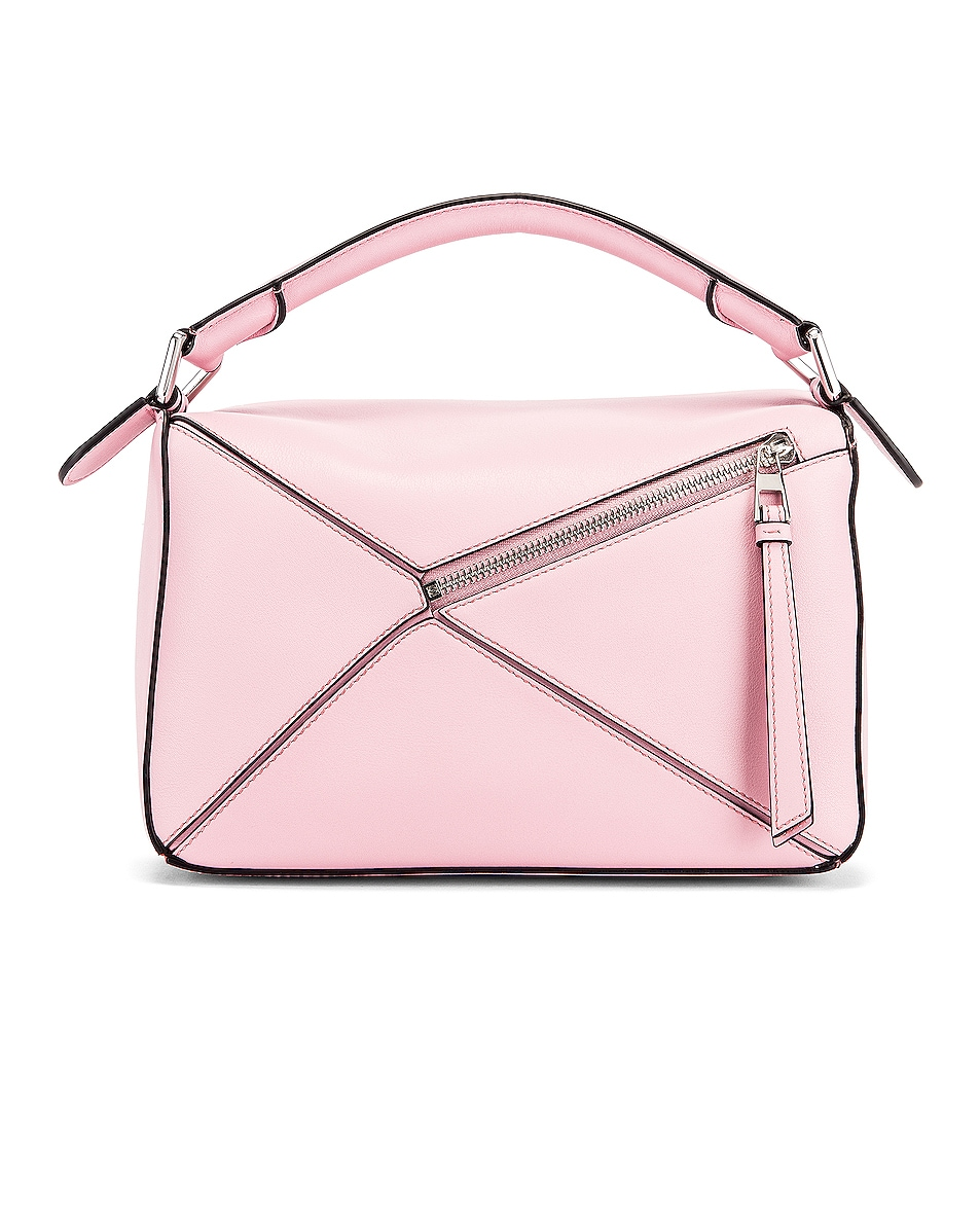 Image 3 of Loewe Puzzle Small Bag in Pastel Pink