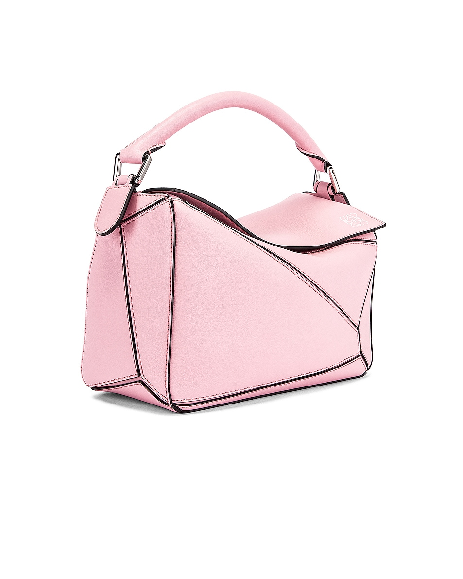 Image 4 of Loewe Puzzle Small Bag in Pastel Pink