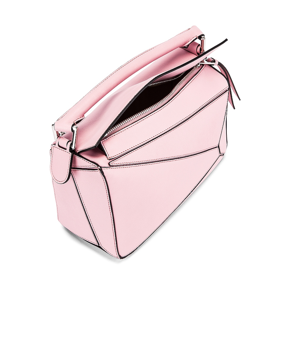 Image 5 of Loewe Puzzle Small Bag in Pastel Pink