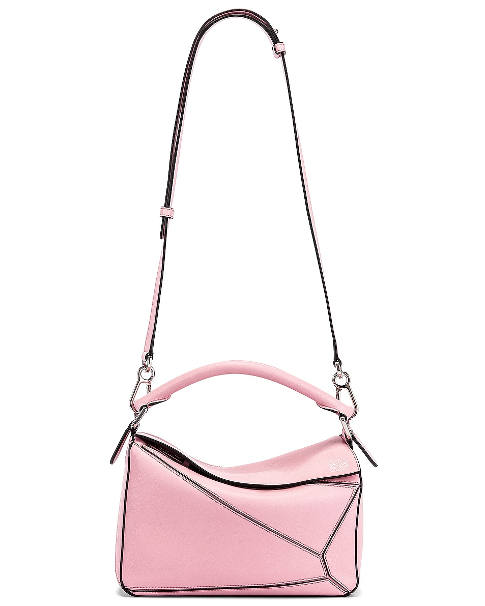 Image 6 of Loewe Puzzle Small Bag in Pastel Pink