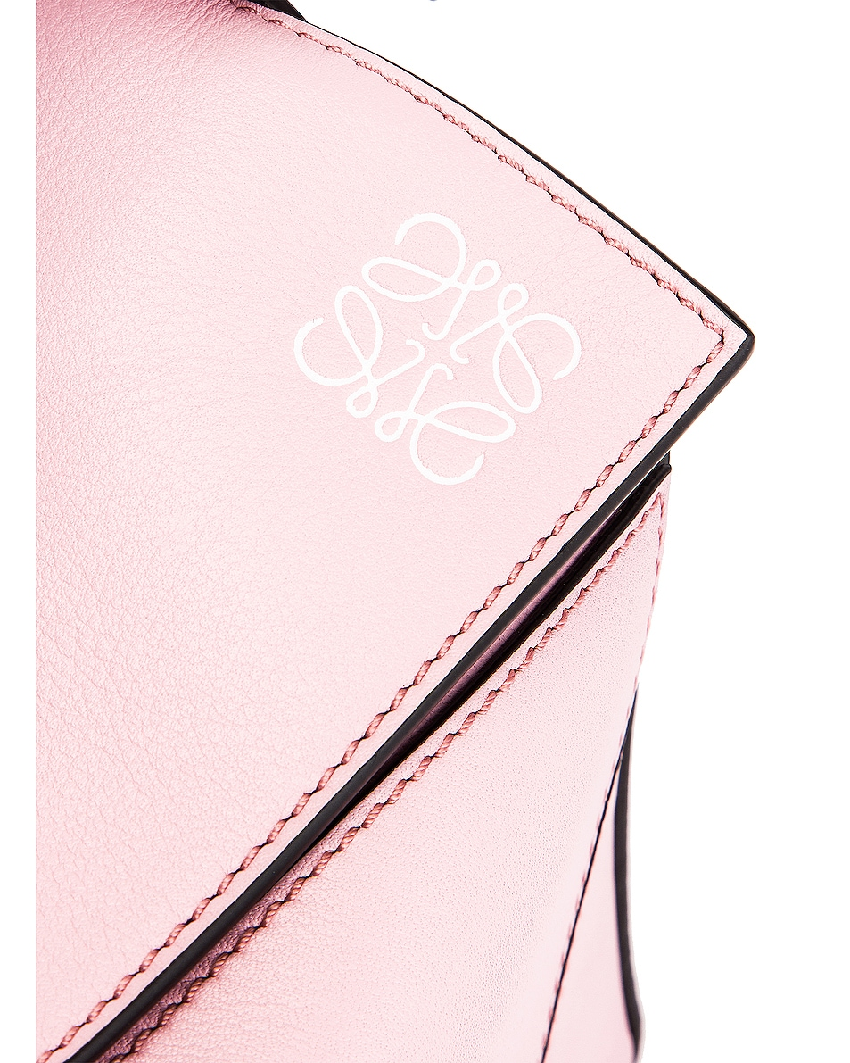 Image 8 of Loewe Puzzle Small Bag in Pastel Pink