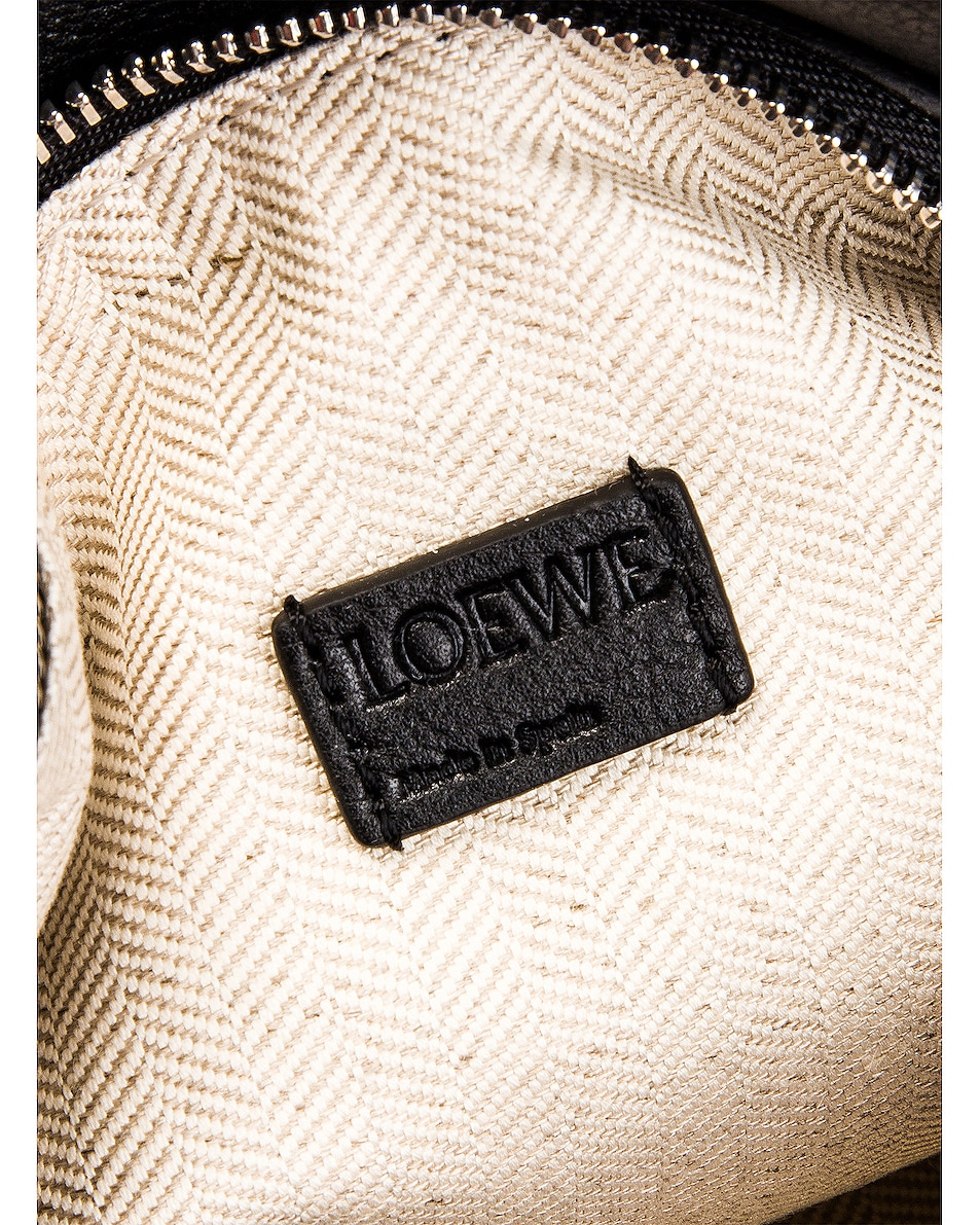 Image 7 of Loewe Puzzle Mini Bag in Black