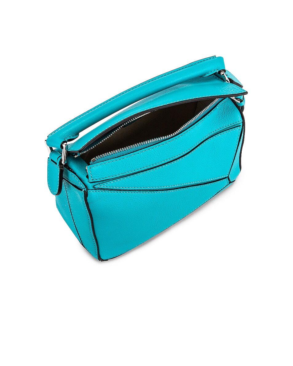 Image 5 of Loewe Puzzle Mini Bag in Lagoon Blue