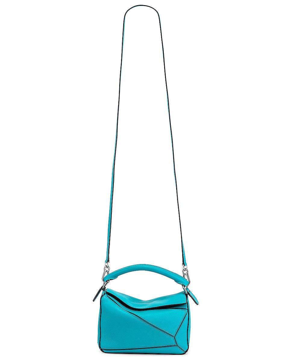 Image 6 of Loewe Puzzle Mini Bag in Lagoon Blue