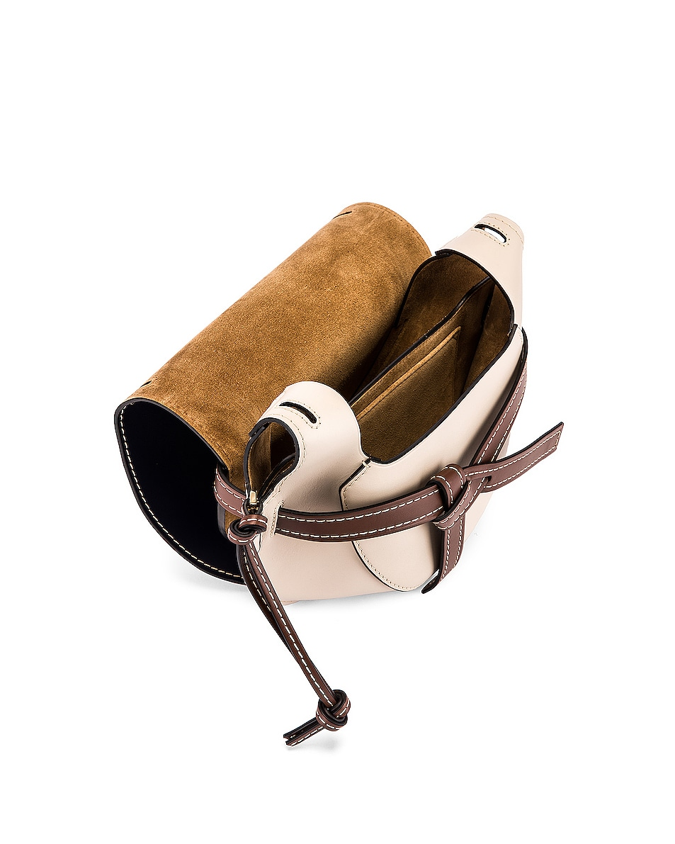 Image 5 of Loewe Gate Small Bag in Marine & Light Oat