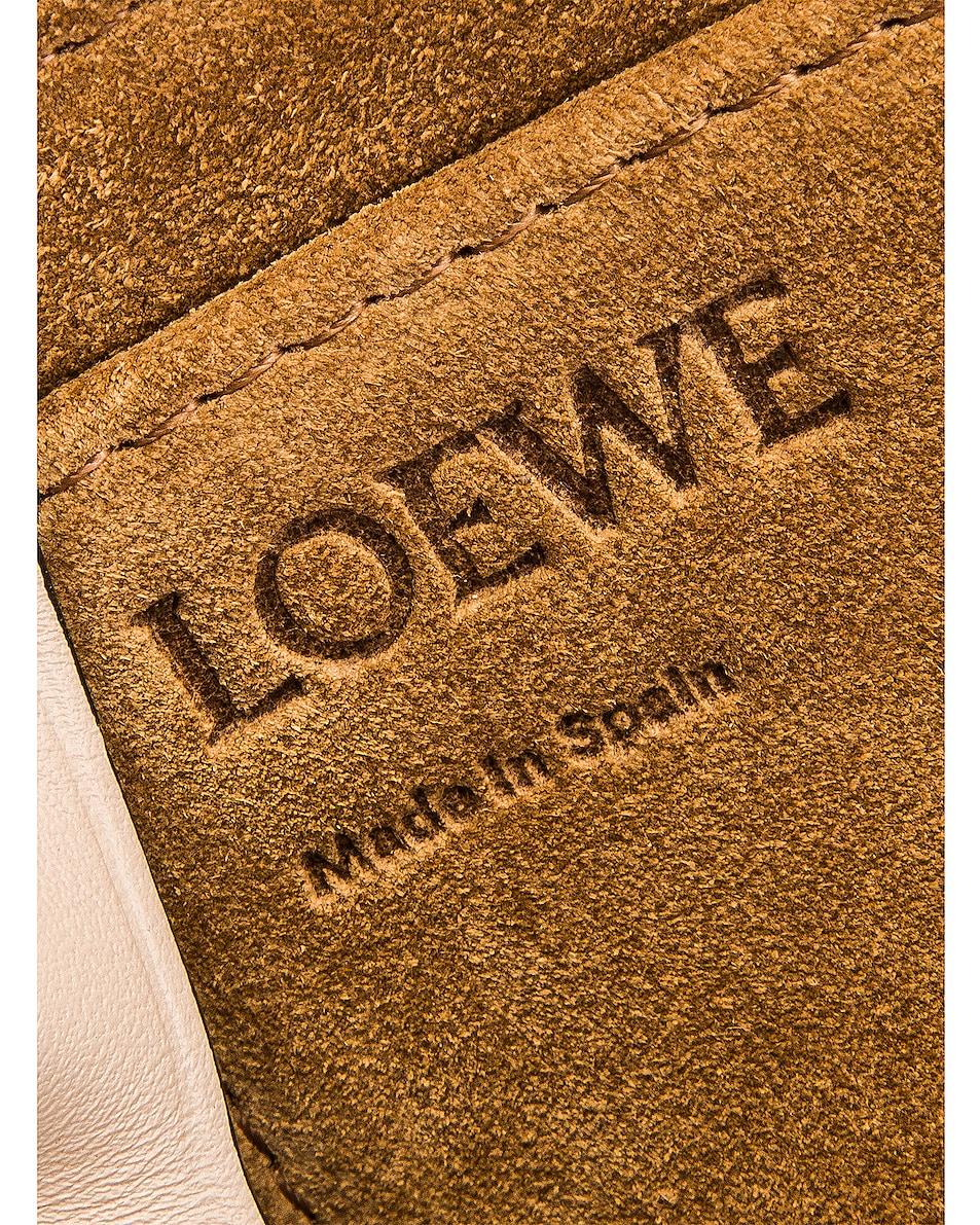 Image 7 of Loewe Gate Small Bag in Marine & Light Oat