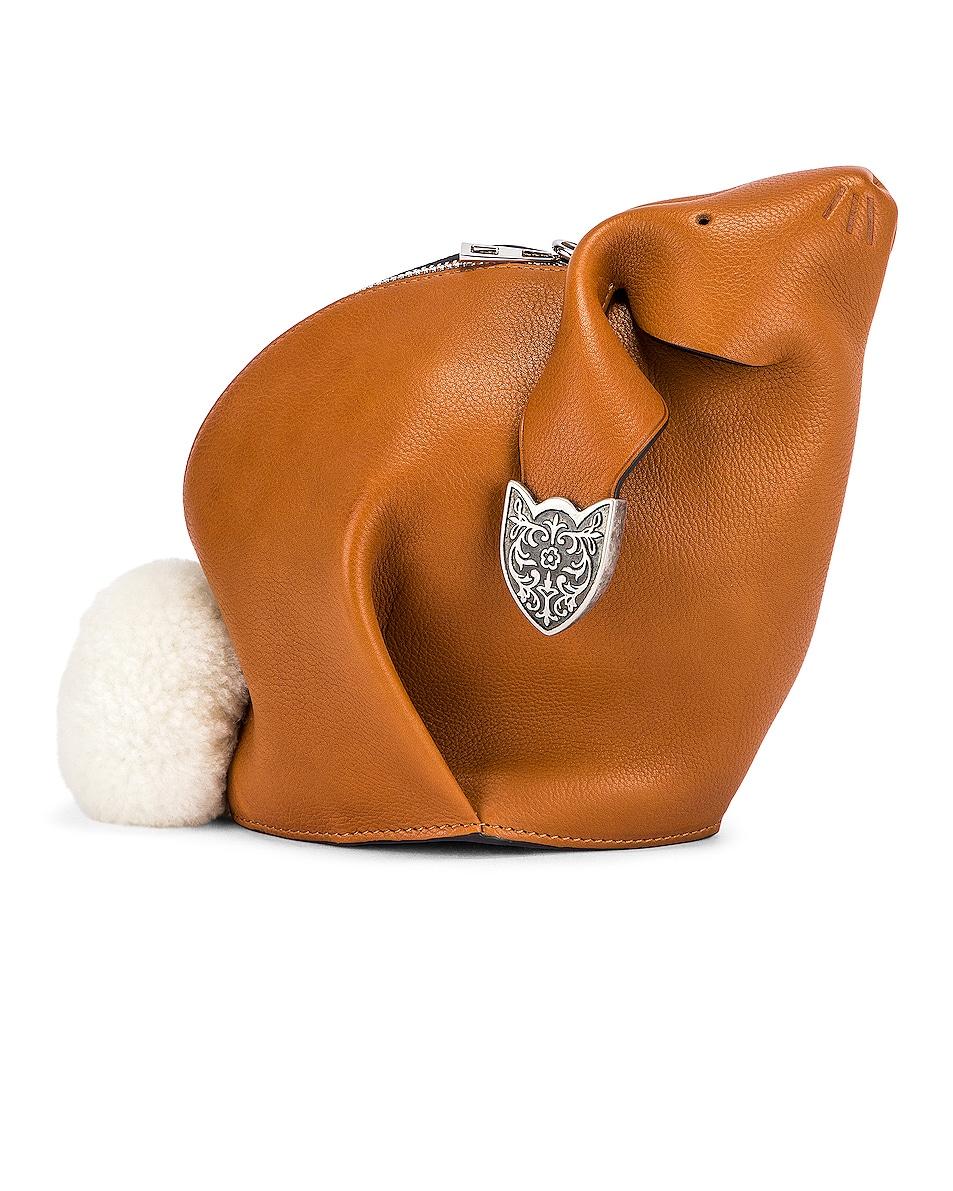 Image 1 of Loewe Bunny Western Bag in Walnut
