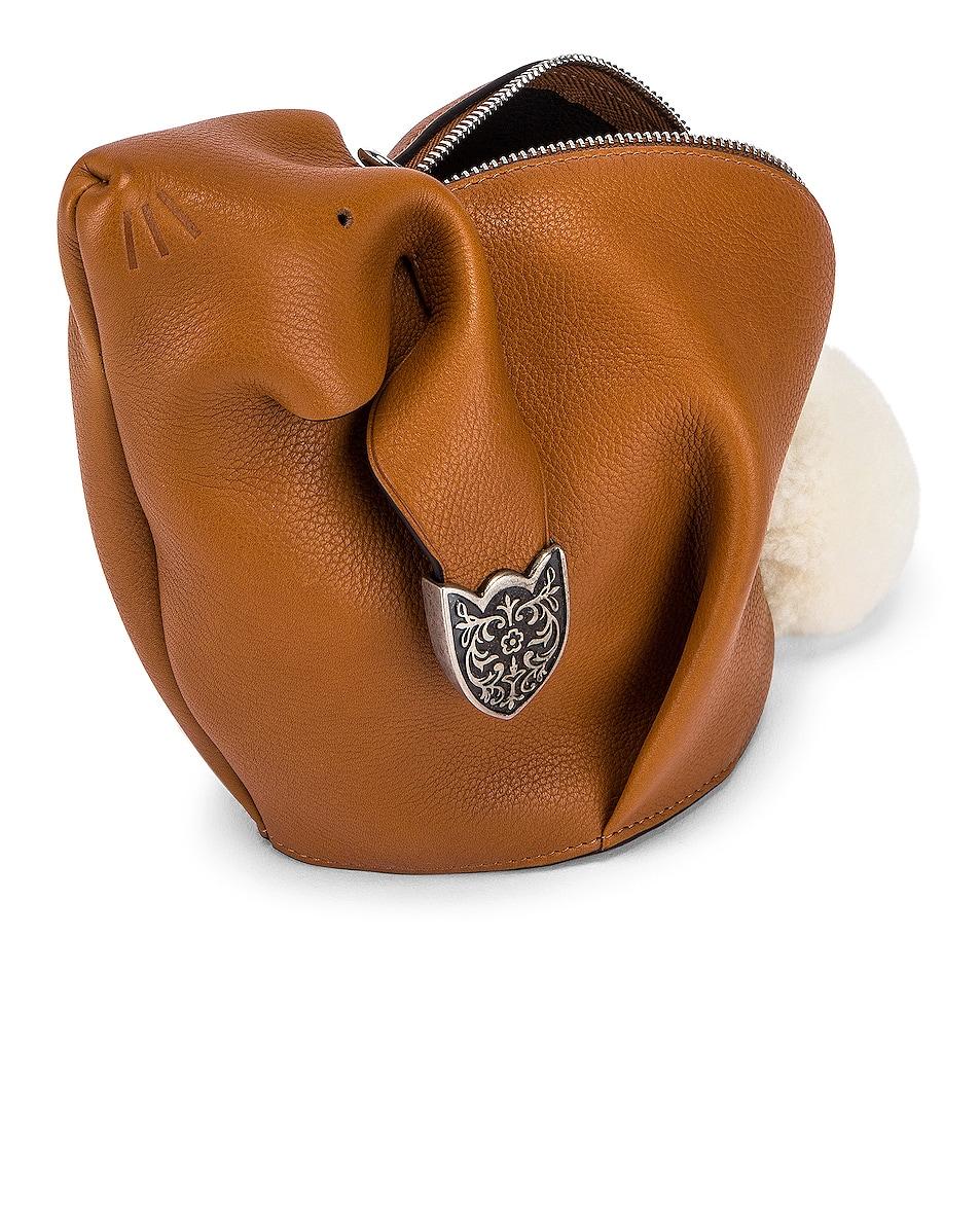 Image 5 of Loewe Bunny Western Bag in Walnut