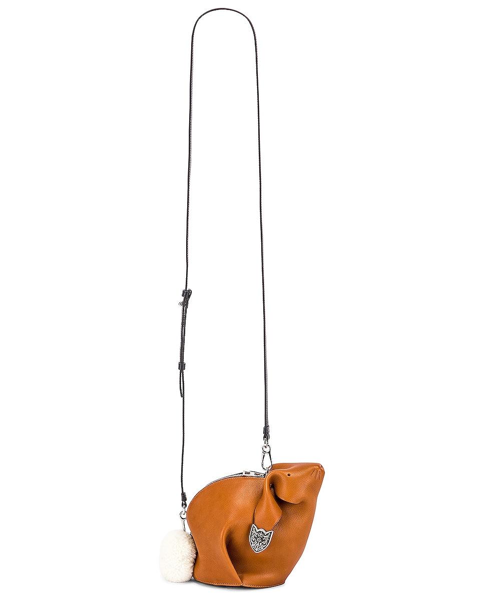 Image 6 of Loewe Bunny Western Bag in Walnut