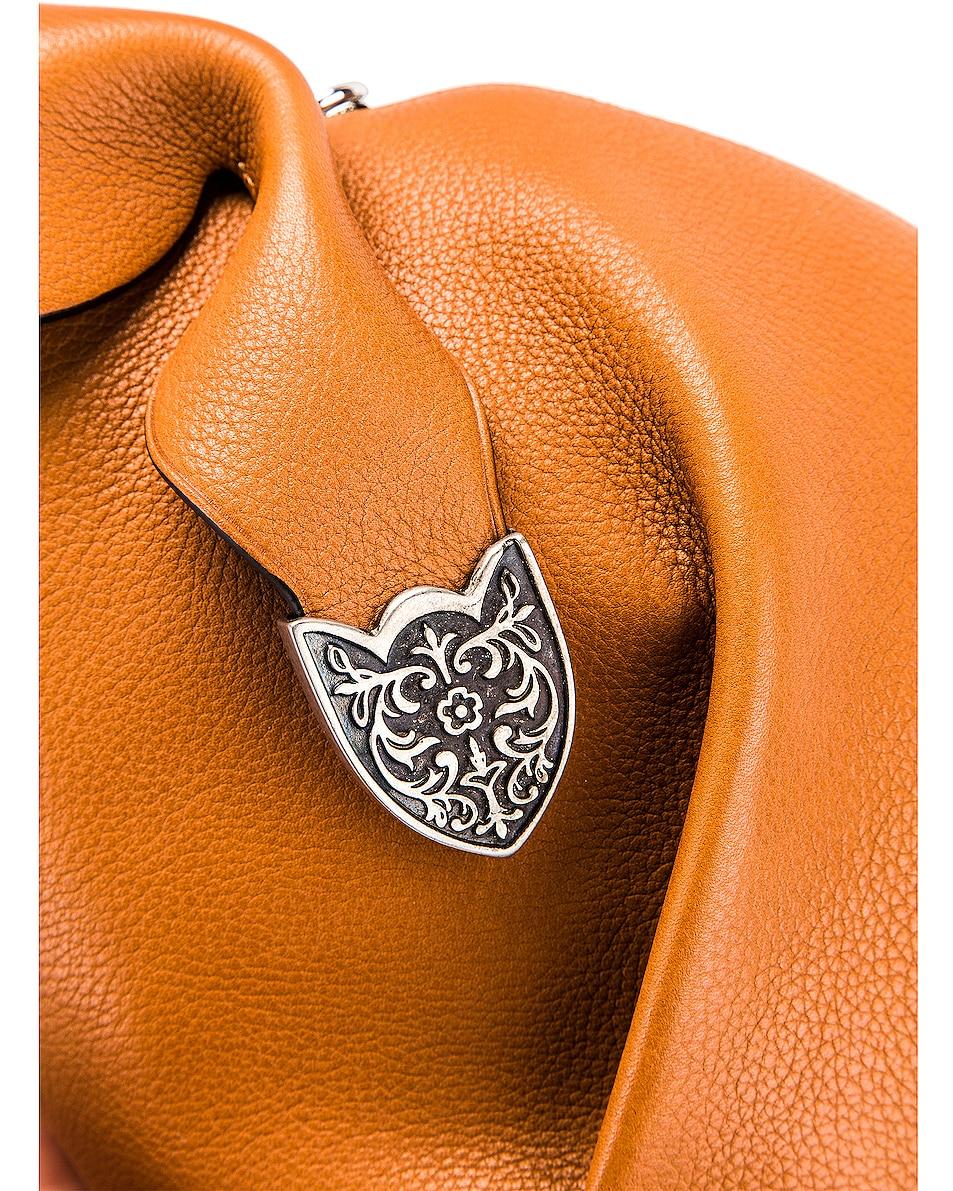 Image 8 of Loewe Bunny Western Bag in Walnut