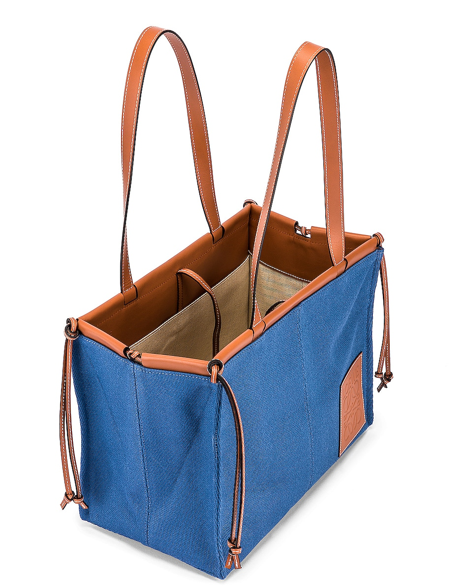Image 5 of Loewe Cushion Tote Bag in Steel Blue