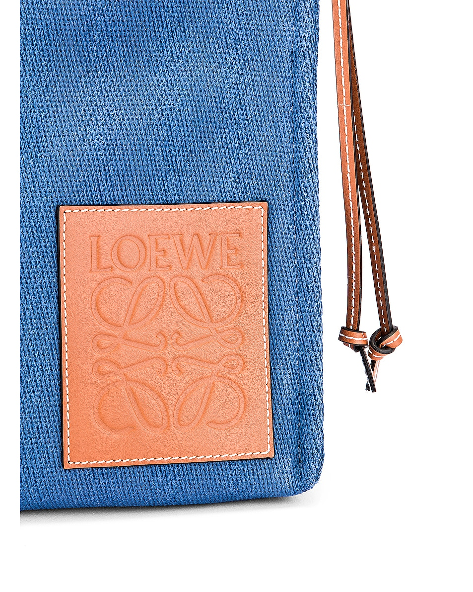 Image 7 of Loewe Cushion Tote Bag in Steel Blue