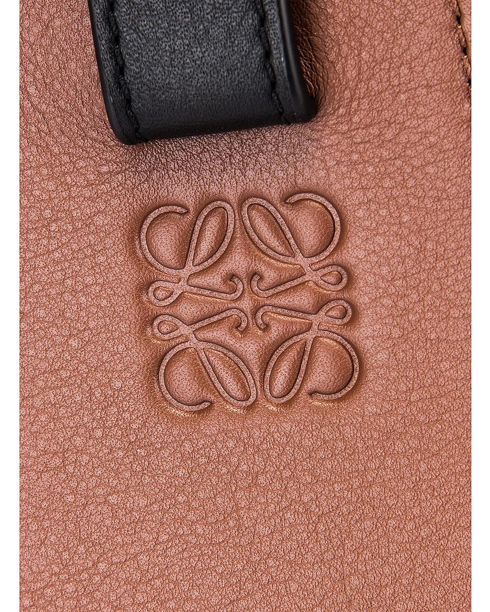 Image 8 of Loewe Hammock Small Bag in Black & Brunette