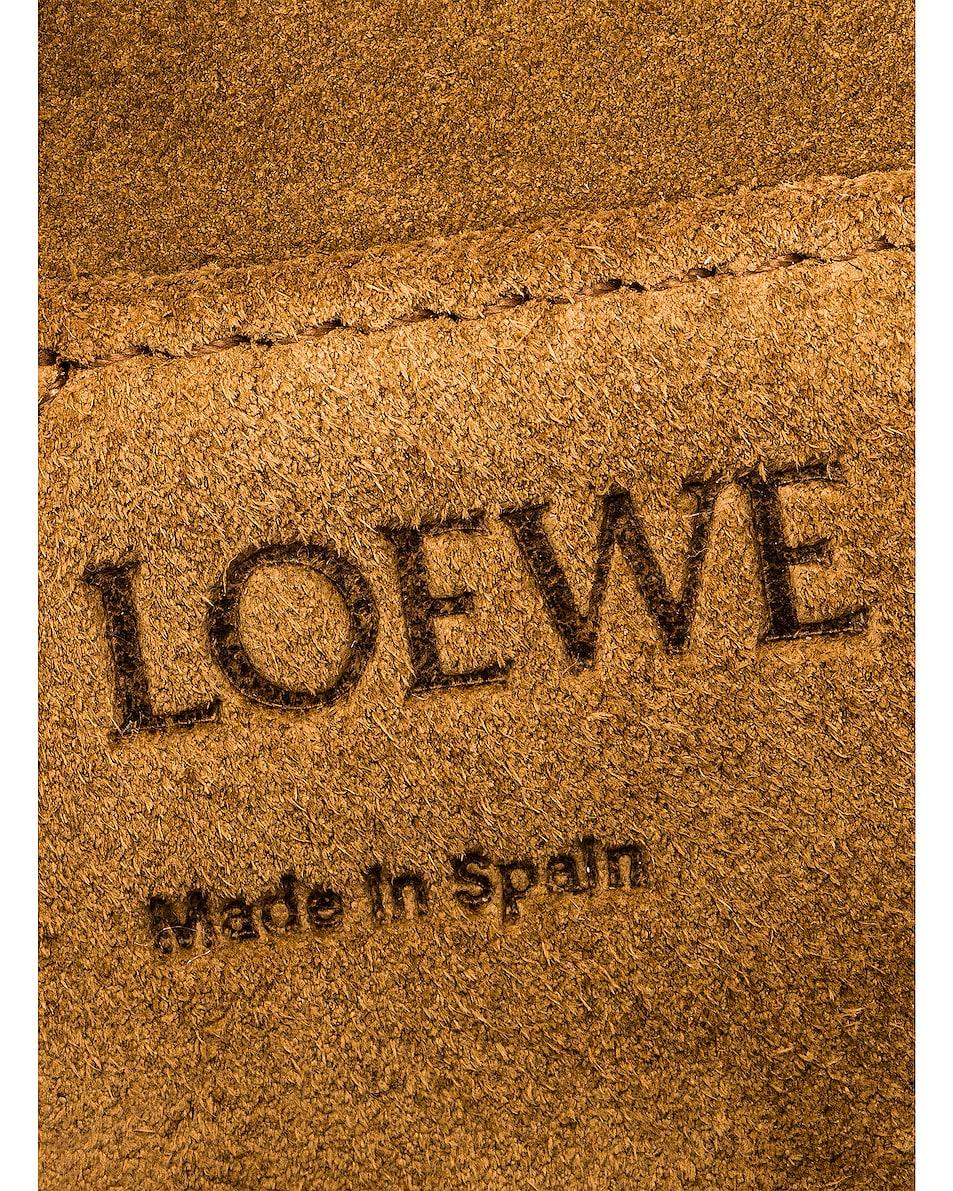 Image 7 of Loewe Gate Tweed Small Bag in Tan
